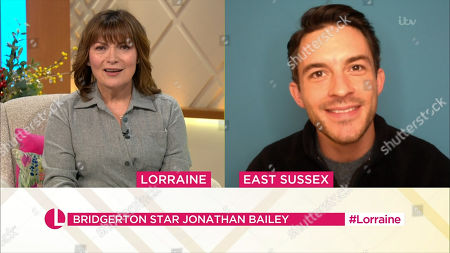 Editorial image of 'Lorraine' TV Show, London, UK - 05 Jan 2021