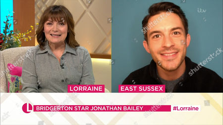 Editorial picture of 'Lorraine' TV Show, London, UK - 05 Jan 2021
