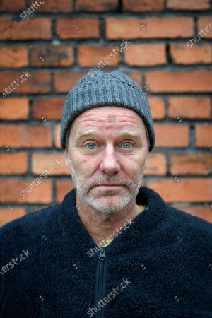 Editorial image of John Ajvide Lindqvist, Stockholm, Sweden - 10 Dec 2020