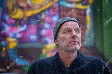 Swedish writer John Ajvide Lindqvist photographed in Stockholm, Sweden