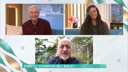 Phillip Schofield, Rochelle Humes and Bill Bailey