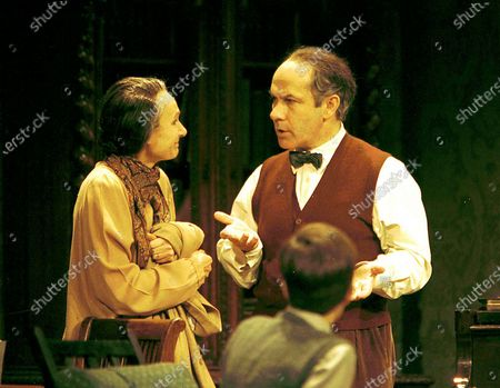 Stock Picture of Angela Pleasence, Nicholas Woodeson