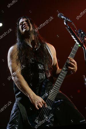 Editorial image of Metallica 'Death Manetic' tour, Allstate Arena, Rosemont, Illinois, USA - 05 Jan 2021