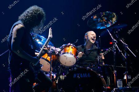 Editorial photo of Metallica 'Death Manetic' tour, Allstate Arena, Rosemont, Illinois, USA - 05 Jan 2021