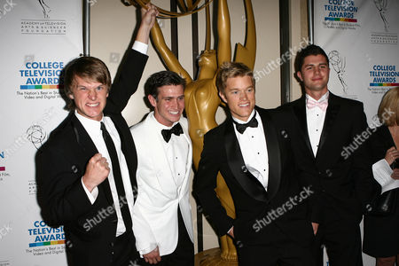 Editorial picture of 31st Annual College Television Awards held at Hollywood Renaissance Hotel, Hollywood, Los Angeles, America - 10 Apr 2010