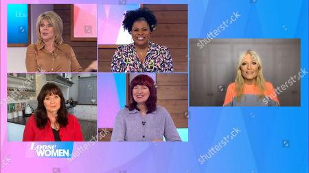 Ruth Langsford, Brenda Edwards, Coleen Nolan, Janet Street-Porter and Gaby Roslin
