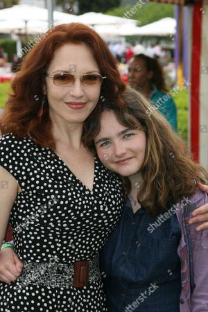 Stock Photo of Amy Yasbeck and Stella Ritter