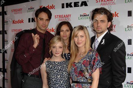 Stock Image of Alli Kinzel, Adam Chambers, Erin Way, Cherilyn Wilson and Josh Nuncio