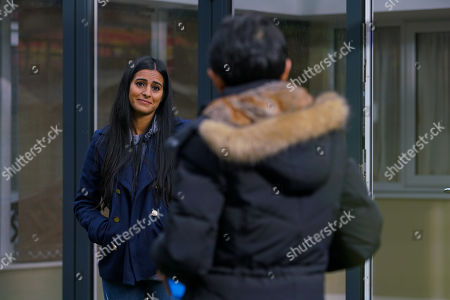 Coronation Street - Ep 10226 Monday 18th January 2021 - 2nd Ep Alya Nazir's, as played by Sair Khan, delighted to see a glimpse of her old Gran Yasemeen, as played by Shelley King.