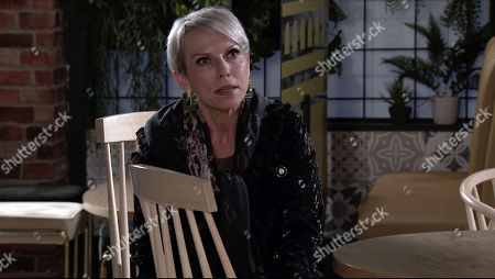 Coronation Street - Ep 10228 Wednesday 20th January 2021 - 2nd Ep Debbie Webster, as played by Sue Devaney, suggests to Ray that he sign over Hexappoint to her as he's nothing but a liability.