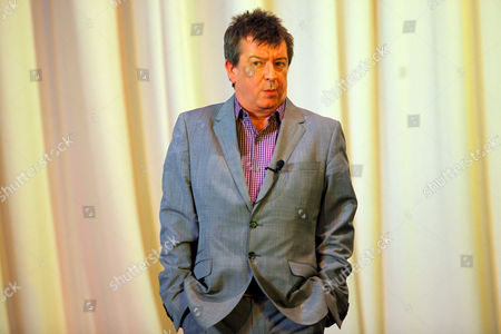 """BBC Radio 2 presenter Stuart Maconie reading from his Book """"Adventures on the High Teas"""" at the Millennium Hall"""
