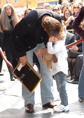 Russell Crowe & son Tennyson Spencer Crowe