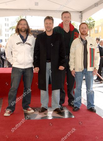 Alan Doyle, Russell Crowe, Kevin Durand and Scott Grimes