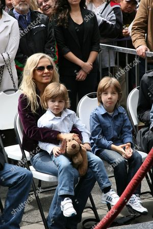 Danielle Spencer, Tennyson Crowe and Charlie Crowe