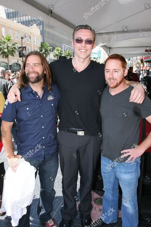 Alan Doyle, Kevin Durand and Scott Grimes