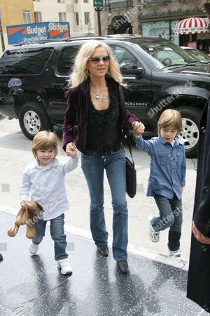 Tennyson Crowe, Danielle Spencer and Charlie Crowe