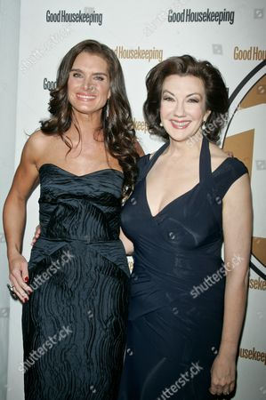 Brooke Shields and Rosemary Ellis, Editor of Good Housekeeping