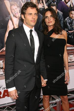 James Marsden and wife Lisa Linde