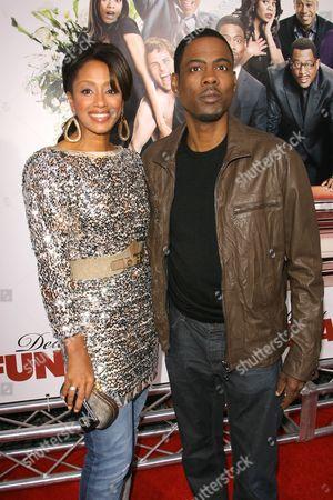 Chris Rock and wife Malaak Compton-Rock