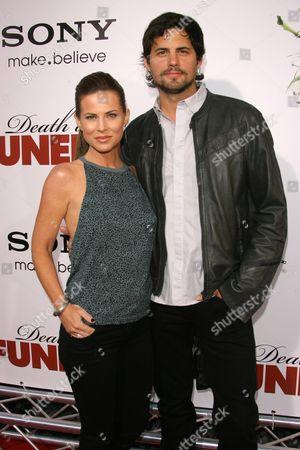 Julianne Morris and Kristoffer Polaha
