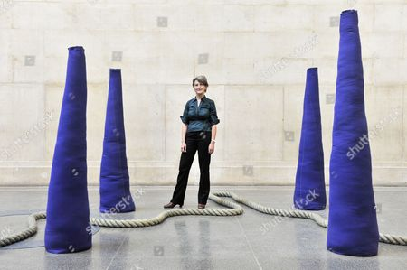 Editorial picture of Dr Penelope Curtis, new Director of Tate Britain, London, Britain  - 13 Apr 2010