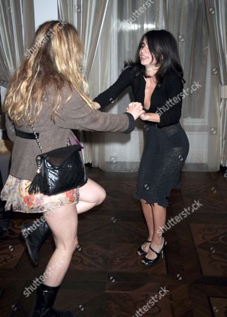 Assisi Jackson and friend dancing