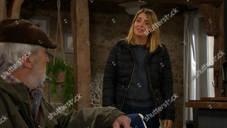 Emmerdale - Ep 8945 Monday 18th January 2021 Debbie Dingle tells Charity Dingle, as played by Emma Atkins, that she wants her to move back in with Chas at the pub. Having heard about the conflict, Zak Dingle, as played by Steve Halliwell, arrives demanding answers from Charity.