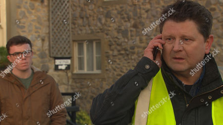 Emmerdale - Ep 8944 Friday 15th January 2021 Paul Ashdale, as played by Reece Dinsdale, places a bet.. And Vinny Dingle, as played by Bradley Johnson, finds out.