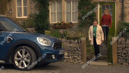 Emmerdale - Ep 8944 Friday 15th January 2021 The worst happens for Dawn Taylor, as played by Olivia Bromley, when the police arrive and Lucas is taken away.