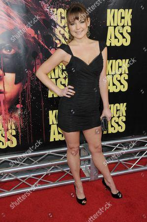 Editorial image of 'Kick-Ass' film premiere, Los Angeles, America - 13 Apr 2010
