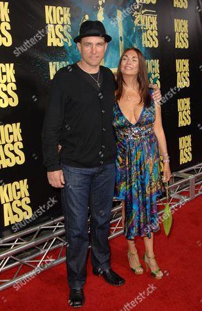 Vinnie Jones & wife Tanya Jones