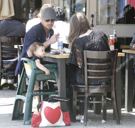 Dominique Geisendorff, Cam Gigandet with daughter Everleigh Ray