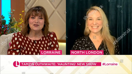 Lorraine Kelly and Tamzin Outhwaite