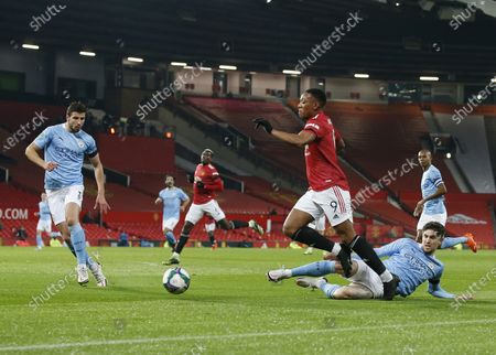 Editorial picture of Manchester United v Manchester City, EFL Carabao Cup, Semi Final, Football, Old Trafford, Manchester, UK - 06 Jan 2021