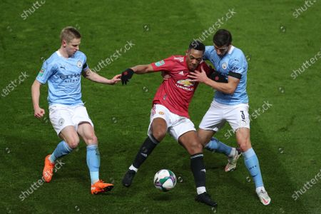 Editorial image of Manchester United v Manchester City, EFL Carabao Cup, Semi Final, Football, Old Trafford, Manchester, UK - 06 Jan 2021