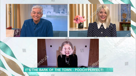 Phillip Schofield, Holly Willoughby and Sheridan Smith