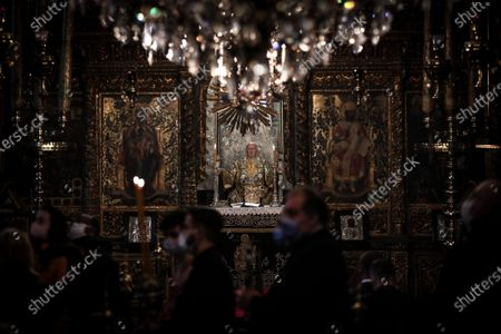 Editorial picture of Epiphany Day ceremony in Istanbul, Turkey - 06 Jan 2021
