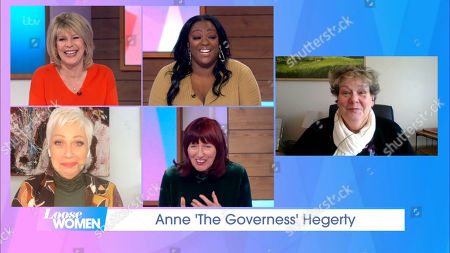 Ruth Langsford, Judi Love, Denise Welch, Janet Street-Porter and Anne Hegerty