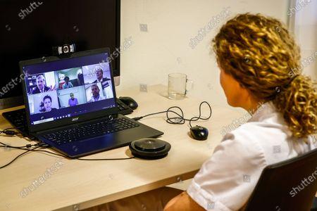 King Willem-Alexander digital visit to Isala hospital, Zwolle