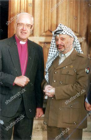 The Archbishop Of Canterbury, George Carey  and Yasser Arafat