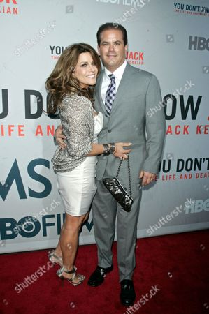 Stock Picture of Adam Mazer with wife Allison
