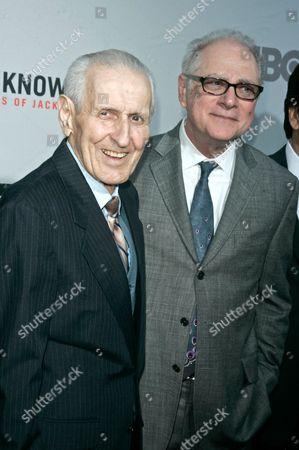 Dr Jack Kevorkian and Barry Levinson, Director
