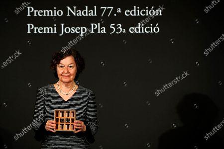 Editorial image of Nadal Award and Josep Pla Prize handover ceremony, Barcelona, Spain - 06 Jan 2021