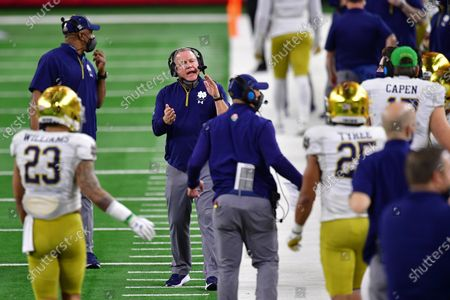 Editorial image of College Football: Rose Bowl: Alabama vs Notre Dame, Arlington, USA - 01 Jan 2021
