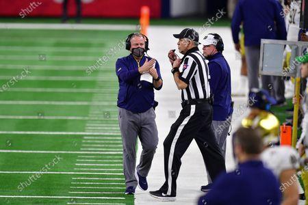 Editorial photo of College Football: Rose Bowl: Alabama vs Notre Dame, Arlington, USA - 01 Jan 2021