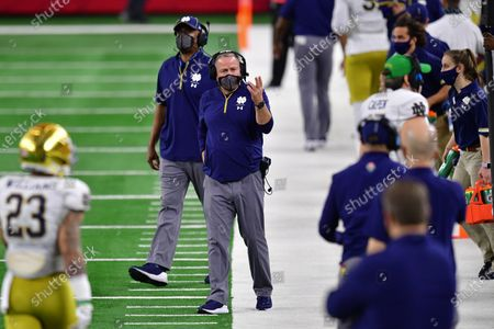 Editorial picture of College Football: Rose Bowl: Alabama vs Notre Dame, Arlington, USA - 01 Jan 2021