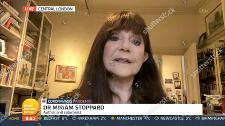 Editorial photo of 'Good Morning Britain' TV Show, London, UK - 07 Jan 2021
