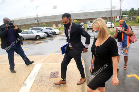 Zara Holland and one of her legal team leaving the District D Magistrates Court in Barbados. British Reality TV Star Zara Holland was this morning fined $12000.00 Barbados ( $6000.00 USD ) for breaching Barbados Zara Holland and one of her legal team at the District D Magistrates Court in Barbados. British Reality TV Star Zara Holland was this morning fined $12000.00 Barbados ( $6000.00 USD ) for breaching Barbados Corona Virus quarantine laws when she appeared in the District D magistrate courtVirus quarantine laws when she appeared in the District D magistrate court