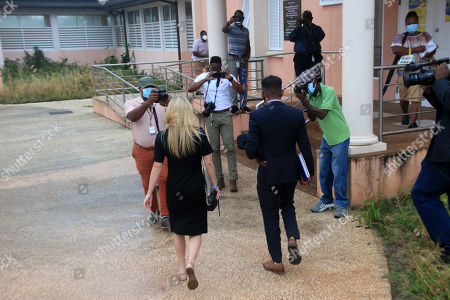 Zara Holland and one of her legal team leaving the District D Magistrates Court in Barbados. British Reality TV Star Zara Holland was this morning fined Zara Holland and one of her legal team at the District D Magistrates Court in Barbados. British Reality TV Star Zara Holland was this morning fined $12000.00 Barbados ( $6000.00 USD ) for breaching Barbados Corona Virus quarantine laws when she appeared in the District D magistrate courtBarbados ( $6000.00 USD ) for breaching Barbados Corona Virus quarantine laws when she appeared in the District D magistrate court