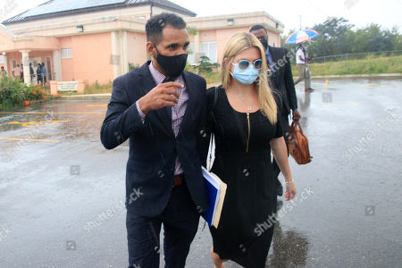 Editorial photo of Zara Holland at District D Magistrates Court, Barbados - 06 Jan 2021